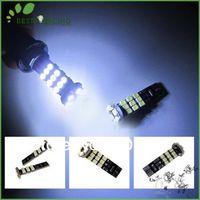 10pcs/lot W5W 168 LED T10 24 SMD Canbus White LED Error Free Light Bulbs Lamp