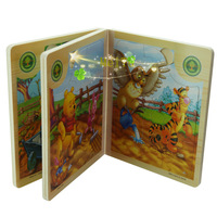 New wisdom garden Wooden Peg Puzzles Animals
