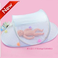 shipping free Baby mosquito net newborn baby folding mount summer mosquito net baby products