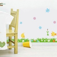 Child real cartoon home decoration wall stickers tijuexian