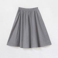 Linen skirt bust skirt spring short half-length skirt