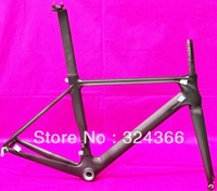 FR-315 Full carbon 3K matt matte road bike frame 700C frame ( BSA ) fork seatpost , clamp  50cm , 52cm , 54cm, 56cm, 58cm