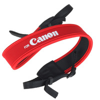 New  camera strap red rubber For Canon 50D 40D 30D 5D 450D 1000D  Free shipping