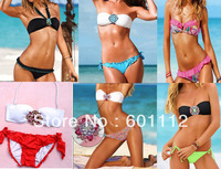 F group high quality!  sexy BIKINI, jewelry hot swimwear, crystal fashion sexy lady swimwear crazy promotion