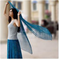 Chiffon scarf silk scarf sun cape lengthen