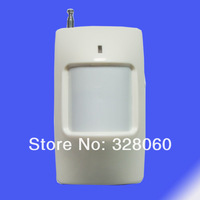 1pcs~Wireless PIR Detector for home security gsm +pstn  alarm system 433/315MHZ