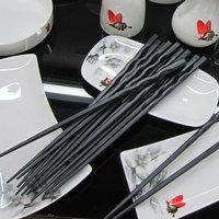 Chopsticks preformed pointed toe choptsicks quality alloy choptsicks household gift japanese style chopsticks