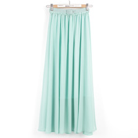 Fashion elegant expansion bottom chiffon half-length full dress bohemia skirt bust skirt yarn spring and summer female