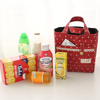 Nylon cloth lunch bag lunch bags cooler bag lunch box bag lunch bag 13356