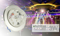4PCS/LOT For Home Party / Balls / Disco / Festivals Celebration 3W LED Ceiling Stage Light with Full Color Rotating(China (Mainland))
