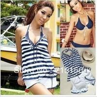 Free shipping! 2013 New arrivel fashion sexy bikinis set female,swimwear women,bathing suit swimsuit ladies 4 pieces/set