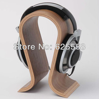 Wooden Omega Headphone Display stand Headphone Holder Headset Hanger Support for Sennheiser DENON Beyerdynami GRADO Monster