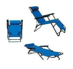 Lengthen dual-use chaise lounge folding chair beach chair leisure chair outdoor casual(China (Mainland))