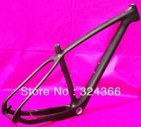 """Full carbon 3k matt matte 29"""" Wheel mountain bike frame 29ER MTB BB30 frame - 15.5""""/17.5""""/19"""""""