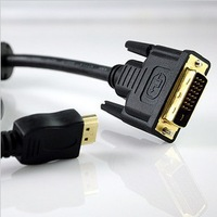 hi-end hdmi to dvi cable , 19PIN A type HDMI TO DVI(24+1) Male to Male 15Meter  hdmi to dvi CABLE free shipping