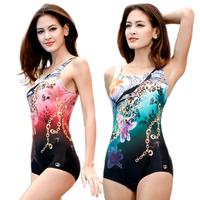 13033 swimwear one-piece swimsuit trigonometric female swimwear