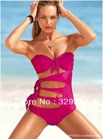 Free Shipping 2014 New Sexy Bikini Swimwear & Swimsuit Beach Bikini Dress sexy beachwear (Lingerie Bra + T-back Sets)