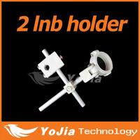 LNB Holder/ Bracket/ Mount  hold up to 2 Ku Band LNB with free shipping post