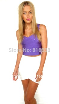 in stock 8 colors now 2013 hot sale HL ladies' sexy fashion  white V CUT hl  BANDAGE SKIRTS FASHION PENCIL SKIRTS WHOLESALE