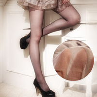 Free shipping High quality double 6 t seamless mesh antidepilation stockings pantyhose ultra-thin