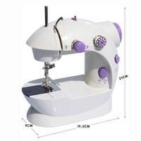 Electric Mini Sewing Machine Home Using Accessories Handwork