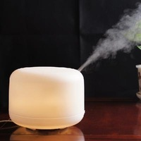 2014 high quality! New Aroma Air Diffuser Ultrasonic Humidifier LED Color Light Ionizer Free Shipping