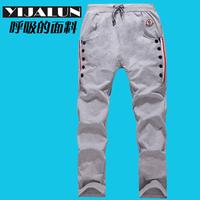 2013 spring men's sweatshirt pants male casual sports pants harem pants trousers male men's clothing