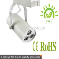 Free Shipping, 10pcs/lot,3w Spot light, 270lm, 85-265v, Warm white, cool white, 3w led track light
