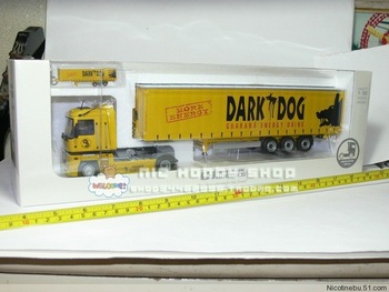 freeshipping ! 2013 HOT ! UH5685 1:50 Renault Dark Dog trailer toy
