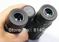 Authentic 8 x25 binoculars portable hd waterproof binoculars for free shipping