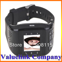Touch Watch Cell Phone Watch Mobile Black Camera Function Bluetooth Dual SIM Card Unlocked watch mobile with number keyboard