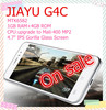 "In Stock Gorilla Glass JIAYU G4/JY G4 mtk6589 Quad core Android 4.2, 3G Smartphone, ROM 4GB,4.7"" IPS Capacitive,13MP Camera"
