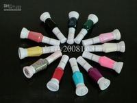 Mixed Color 3Pcs New arrivals Nail Art 2-way pen brush varnish polish Nail Art Supply