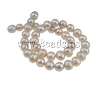 Free shipping!!!A 10-11mm Hole:Approx 0.8mm Length:15Inch 34PC/Strand natural pink Round Cultured Freshwater Pearl Beads Jewelry