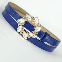 summer dress 2014 belts free Garishness rhinestone gem thin    multicolour thin  photchromic   belt