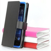New arrival  free shipping Leather Case  for LenovoS890, cover  housing for  Lenovo S890 red pink white black in stock