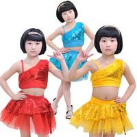 [10pcs/free ship] Child Latin dance ballet performance wear costume female child tulle dress princess dress x1209 christmas tutu