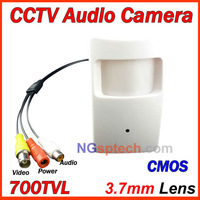 Free shipping,Big Sale! 2014 Newest most popular 900TVL Pinhole mini Camera, CMOS sensor, Audio camera
