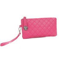 Best Selling!!2013 new fashion women plaid wallet ladies Wrist bag zipper purse Free Shipping