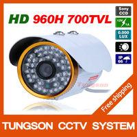 SONY 960H Effio-E 700 TVL Outdoor Waterproof  Video Surveillance Bullet Night Vision Home Infrared Security CCTV Camera