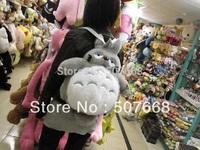 "1 pcs 16"" Totoro School Backpack Bags, Plush Backpack ,Stuffed Plush Toys Bags,School Bag"