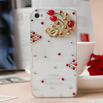 Free shipping fashion luxury  design   Simple  style 3D case for iphone4/4s iphone5/5s