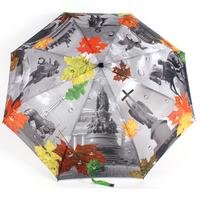 Free shipping Creative European painting pattern Automatic Parasol Fashion UV