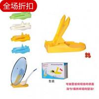 Folding pot cover rack spoon rack lounged shelf home daily necessities yiwu baihuo (The minimum order amount $10)