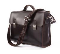 Vintage Genuine real leather Men buiness handbag laptop briefcase shoulder bag backpack / man messenger bag  JMD7155C-385