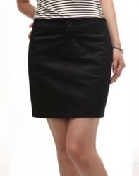 Stella free shipping Women's 2013 purchasing agent of special counter summer bust skirt black work wear short skirt(China (Mainland))