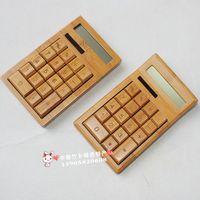 Product bamboo calculator bamboo computer eco-friendly gift