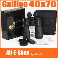 BRAND NEW HD Galileo 40X70 Binoculars with Night Vision Military Outdoor Binocular Telescope with 1000 Meter Range Free Shipping