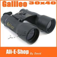 Brand NEW Original Galileo 30 x 42 Binocular Telescopes with 42mm Objective Optical Zoom Binocular Free Shipping