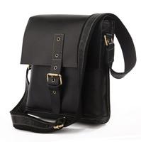 Vintage Genuine real leather Unisexual messenger bag Cowboy Vintage Leather Shoulder handbag JMD7157B-245